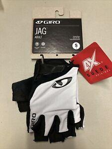 ! Giro Jag Adult Small Cycling MTB Bike Gloves White