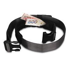 Pacsafe NUEVO cashsafe 25 antirobo Lujo Con Cinturón para Viaje Cartera Negra