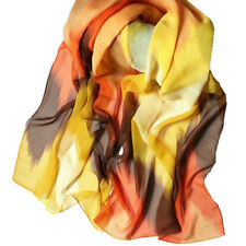 Women Chinese Ink Style Wrap Ladies Shawl Long Soft Chiffon Scarf Scarves Wrap
