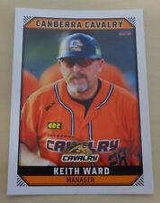 Keith Ward 2018/19 Australian Baseball League card - Canberra Cavalry