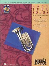 Easy Tuba Solos w CD Canadian Brass 1992 Erie Canal Lento Loch Lomond Chinatown
