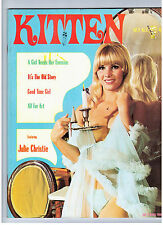"MAGAZINE ""KITTEN 2/2"" (1968) BEATLES / FELLINI / J. CHRISTIE /  WOMEN / VINTAGE"