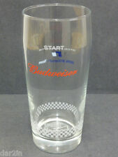 NEW BUDWEISER BMW WILLIAMS F1 TEAM RACING BEER PUB BAR HOME DRINK BUD PINT GLASS
