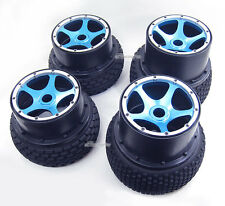 New Alloy F/R Wheel Rim+Tire Kit for HPI Baja 5B/5B SS