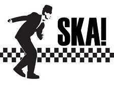 SKA A4 TSHIRT TRANSFER DESIGN SKA MUSIC SKA MODS A4