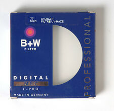 B+W 77mm Mrc UV Haze Protective Filter For Pentax Canon Nikon Sony Olympus Leica