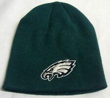 NWT NFL Philadelphia Eagles Reebok Cuffless Winter Knit Hat Beanie Cap OSFA NEW!