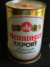 Henninger Export  Beer Can/Keg- Vintage-Empty- 1 Gallon