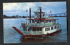 Posted 1966 View of the Paddle Steam Boat M.V. Mark Twain