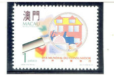 MACAO 1995 World Day of the Consumer