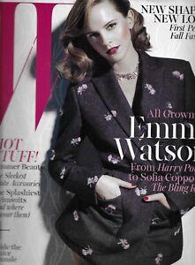 Emma Watson W Magazine Summer Fashion Swimsuits Sofia Coppola Kayne Sisters 2013