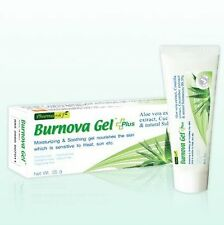 Burnova Gel Plus Aloe Vera Centella and Cucumber Extract for Burns 25g Skin Care