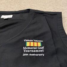 Vietnam Veterans Memorial Golf Tournament Cutter & Buck Golf Vest CB Wind Tec XL