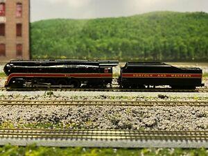 N Scale - Bachmann 82153 Norfolk & Western Class J Steam Locomotive #611 N4868
