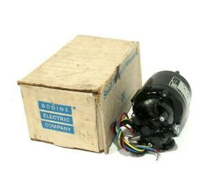 NEW BODINE ELECTRIC NSE-11R GEARMOTOR NSE11R
