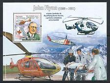 Guinée - Bissau 1V en Bloc neuf** (MNH) 2009 - Croix rouge et Hélicopteres