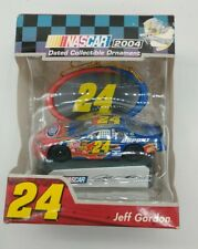 Authentic NASCAR Jeff Gordon #24 Handcrafted Collectable Ornament 2004. (NEW)