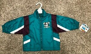 NHL Anaheim Ducks kids 12 Month Jacket Ice Hockey New w tags Baby winning goal