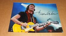 Steve Hackett *Genesis, Wolflight, Cured*, original signed Photo 20x25 (8x10)