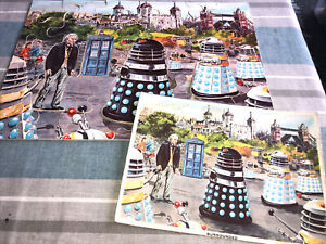 Doctor Who Jigsaw William Hartnell Daleks 1960's No Box