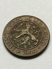 1944-D Netherlands 1 Cent AU #10565