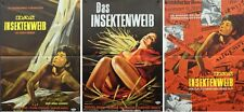 INSECT WOMAN German A1 movie posters set x3 SHOHEI IMAMURA 1964 RARE