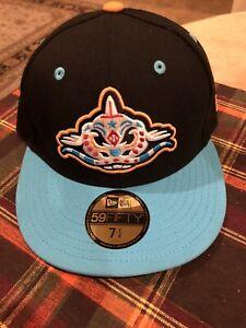 Carolina Mudcats New Era Fiited Cap Hat NEW 7 1/4