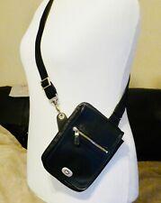 Texier Cross Body Black Leather Bag