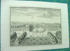 Palais de CLAGNY, NICOLAS de FER Géographe du Roi 1704,originale
