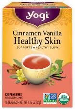 Cinnamon Vanilla Healthy Skin Tea by Yogi Tea, 16 tea bag