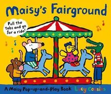 Maisy's Fairground: A Maisy Pop-Up-and-Play Book by Lucy Cousins c2013 NEW