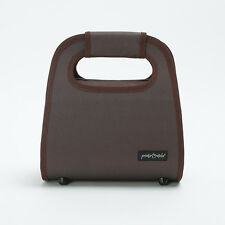 Prima Mela Italian Cooler Insulated Lunch Bag Portable Storage Handbag Brown
