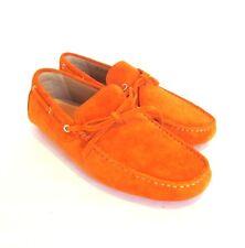 S-1620975 Nuevo Bally Dramer 254 Mandarina ante Conducción Zapato Sz Us 9D