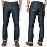 Nudie Herren Slim Fit Raw Denim Jeans |Slim Jim Dry Broken Twill