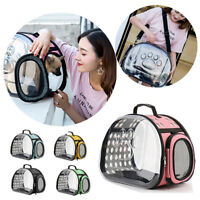 Pet Cat Dog Carrier Breathable Portable Foldable Travel Kennel Handbag Puppy Bag