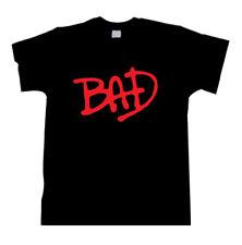 Michael jackson tee t shirt bad moonwalker king of pop t shirt