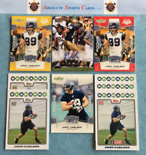 2008 JOHN CARLSON Rookie Lot x 9 RC | Auto | Topps Gold | Notre Dame | Seahawks