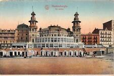 BLANKENBERGHE BELGIUM LE CASINO GERMANY FELDPOST POSTCARD 1916 (84)