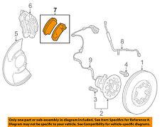 GM OEM Brake-Front Pads 19178358