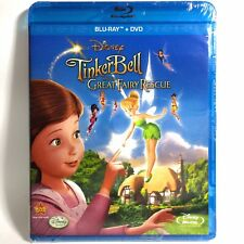 TinkerBell & The Great Fairy Rescue (Blu-ray/DVD, 2010) Brand New !  Walt Disney