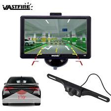 "7"" Car GPS Navigation+ Wireless Rear view Camera Bluetooth AV-IN New Map 8GB"