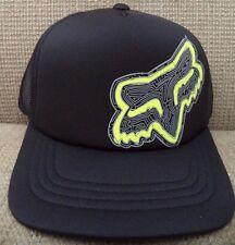FOX YOUTH AMAZED SNAPBACK CAP HAT BLACK *NEW*
