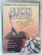Misterio de asesinato: asesinato en el vuelo Divots Golf Club. envuelto Nuevo.
