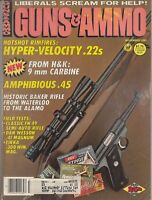 Vintage Magazine GUNS & AMMO November 1983 ! DAN WESSON Model 741V REVOLVER!