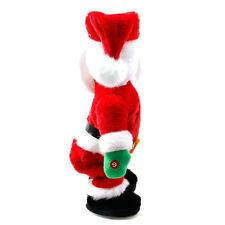 Christmas Santa Claus Figure Twisted Hip Twerking Singing Electric Toys kid Gift