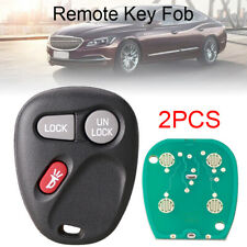 2 Keyless Entry Remote Key Fob 3 Button Fit for Chevrolet Koblear1XT / 15042968