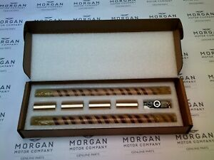 Morgan Hardened Chrome King Pin Kit (inc lube bolts & fixings)