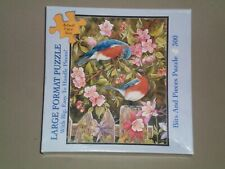 (2006) BITS AND PIECES 300 Large Piece Jigsaw Puzzle - BLUEBIRD COURTSHIP