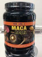 New Sealed Maca Negra Polvo 4 en 1 16oz Yerbas Finas