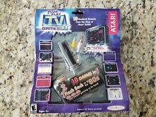 ATARI Classic 10 in 1 TV games Plug and Play - 2004 Jakks Pacific - New Sealed